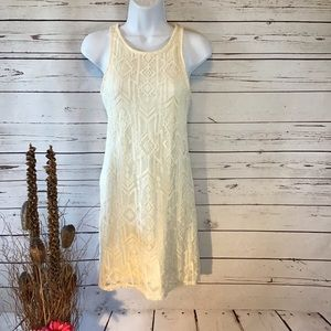 Ivory Lace Sheath Dress